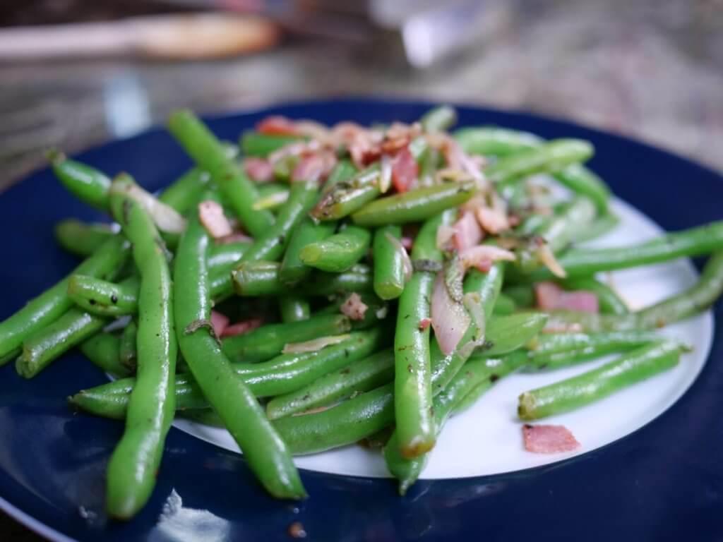 green beans pancetta