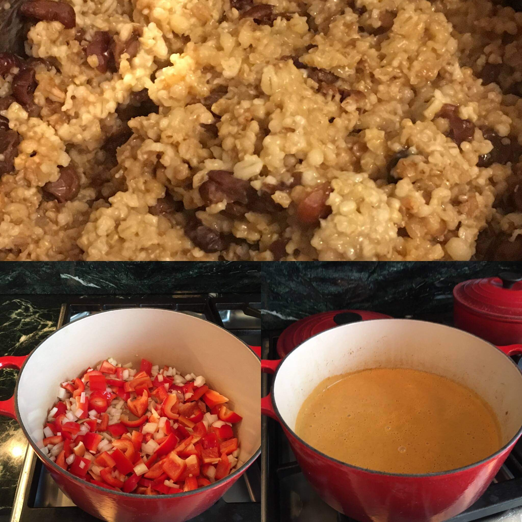 Weekly Recipe Round-Up: Slow Cooker Oatmeal and Red Pepper Paprika Soup with Pistachio