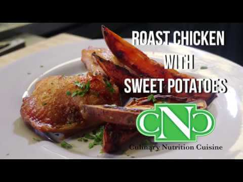 Roast Chicken & Sweet Potatoes