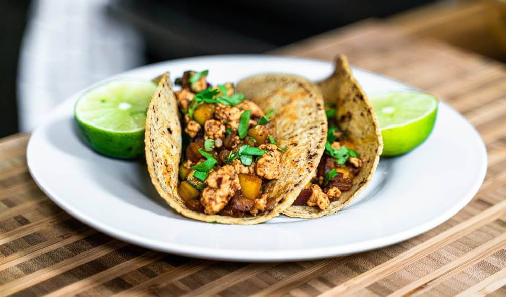 Tacos with Homemade Chicken Taco Seasoning