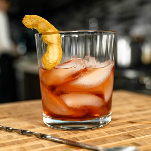 whiskey cranberry cocktail