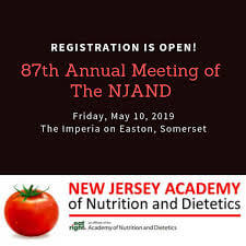 New Jersey Academy of Nutrition and Dietetics Annual Conference