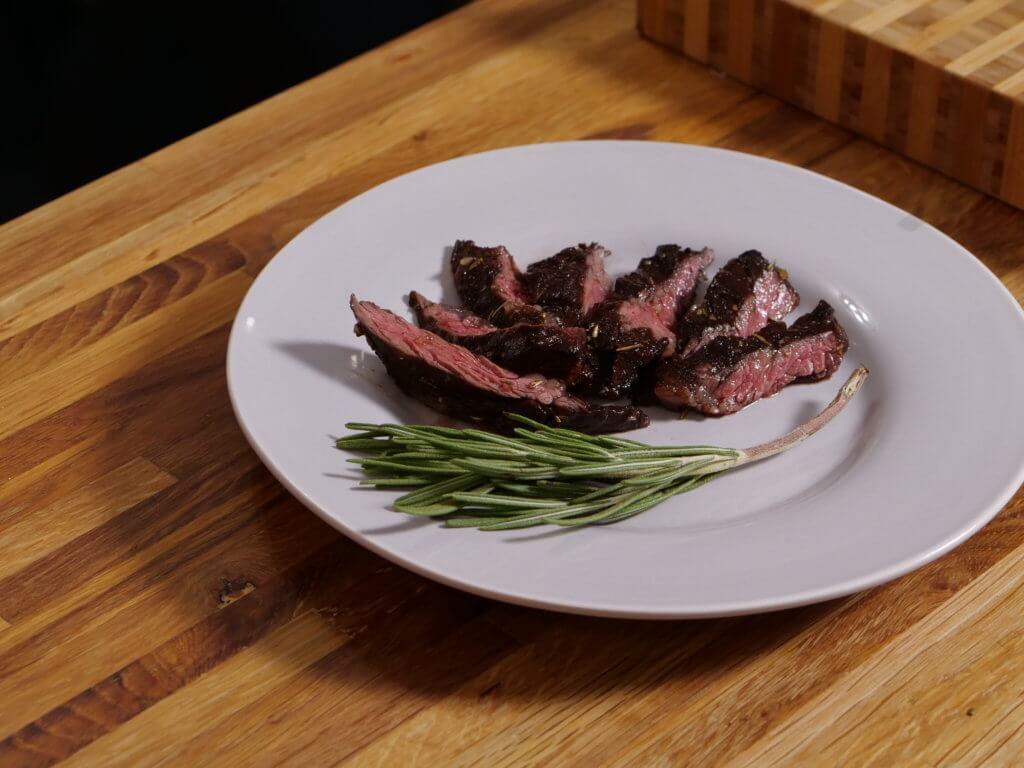 balsamic vinegar skirt steak