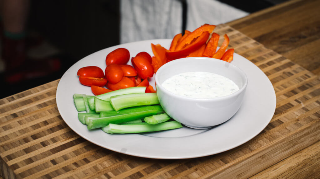 Side Shot, Dairy Free Ranch Dressing