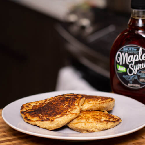 Thumbnail, Side Shot, Oat Flour Pancakes