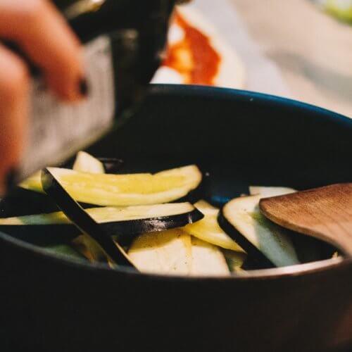 cooking eggplant gochujang