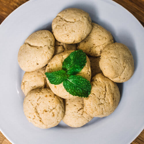 Over Head, Vegan Sugar Cookies